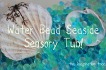 Water Bead Seaside Sensory Tub