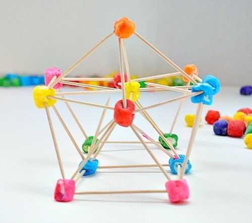 build with toothpicks