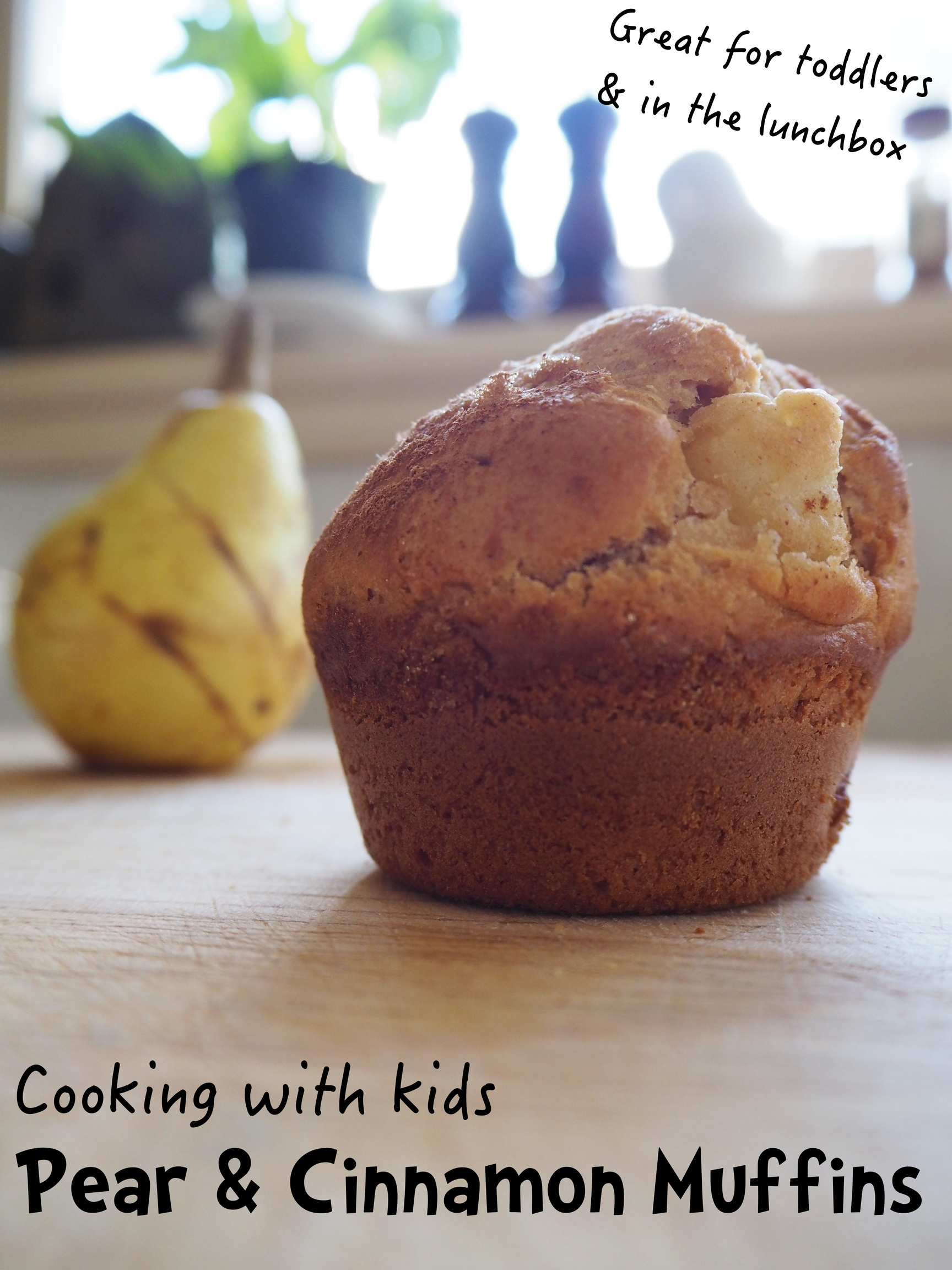 Pear And Cinnamon Muffin Recipe The Imagination Tree