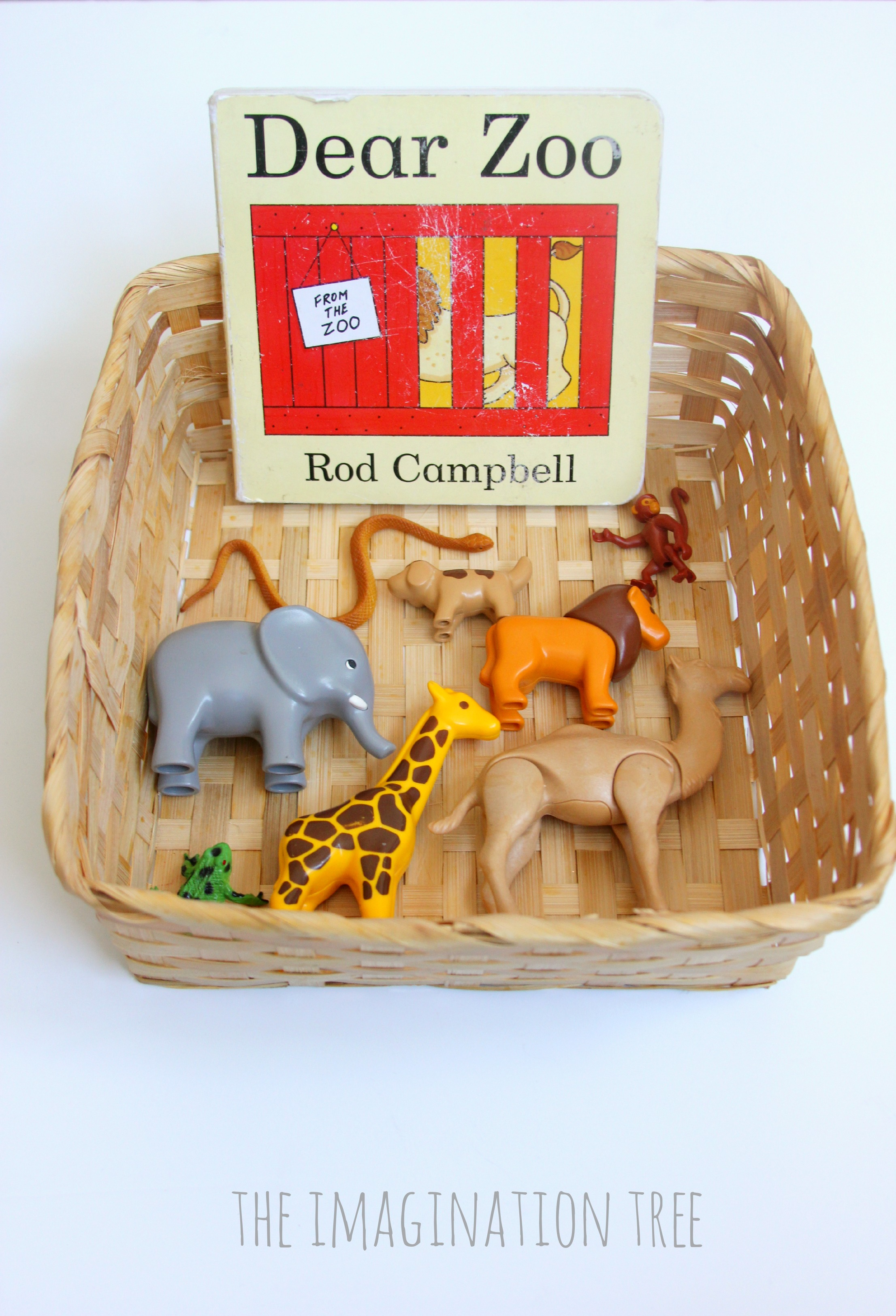 Dear Zoo Storytelling Basket For Toddlers The