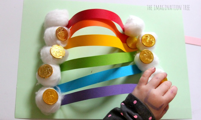 Paper rainbow craft