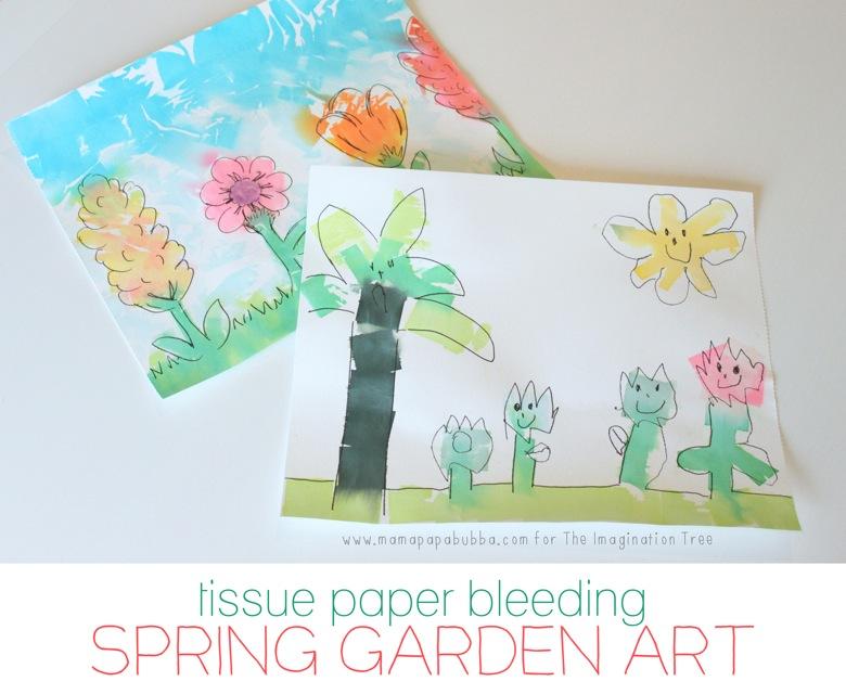 Spring Garden Art Pinnable Image 2