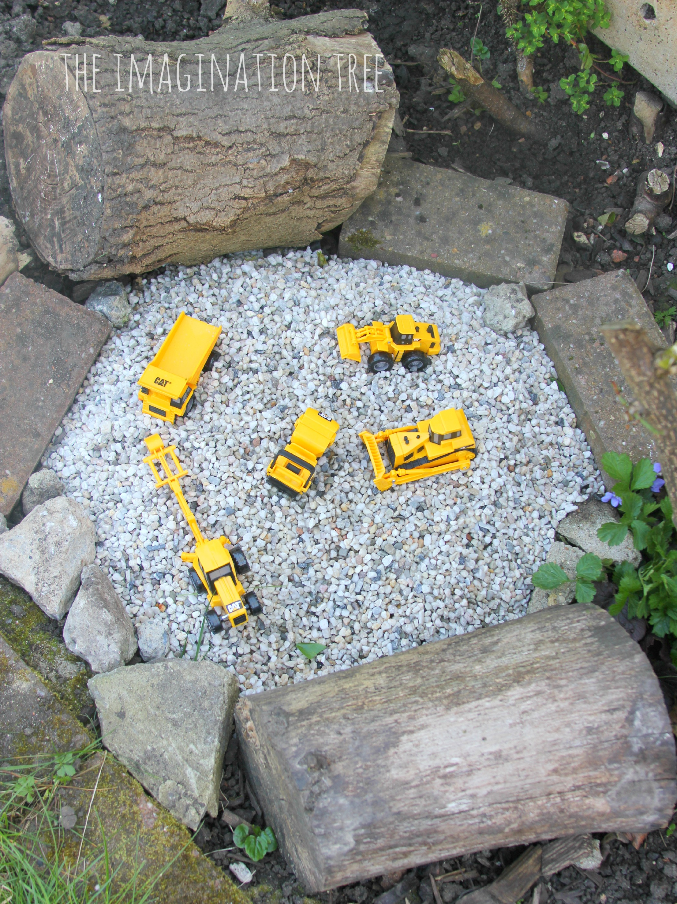 Construction site gravel pit the imagination tree for Childrens play yard