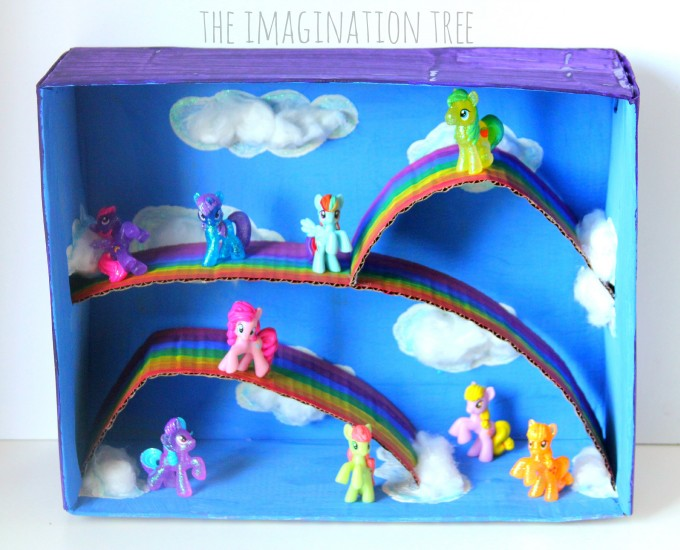 My Little Pony Small World Play Box