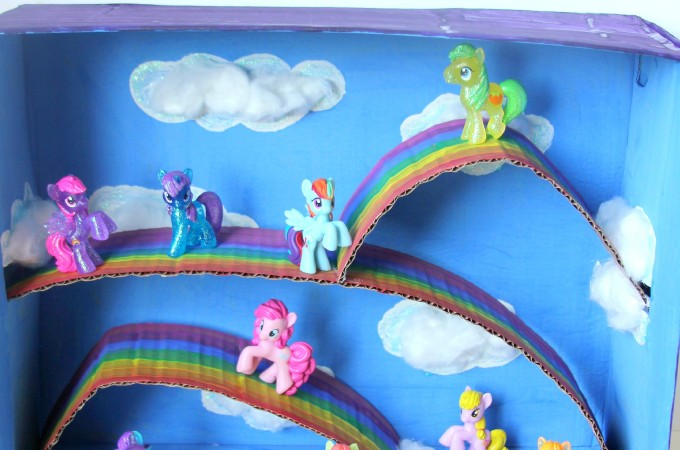 My little pony rainbow small world play box