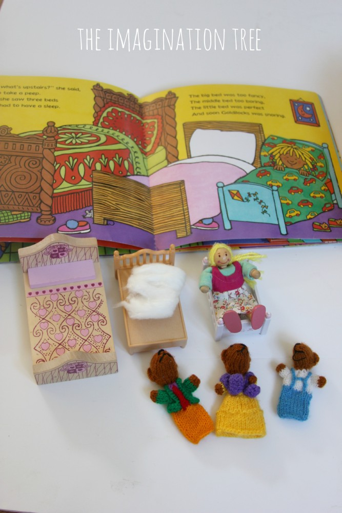 Sizing and comparing beds with a Goldilocks storytelling basket