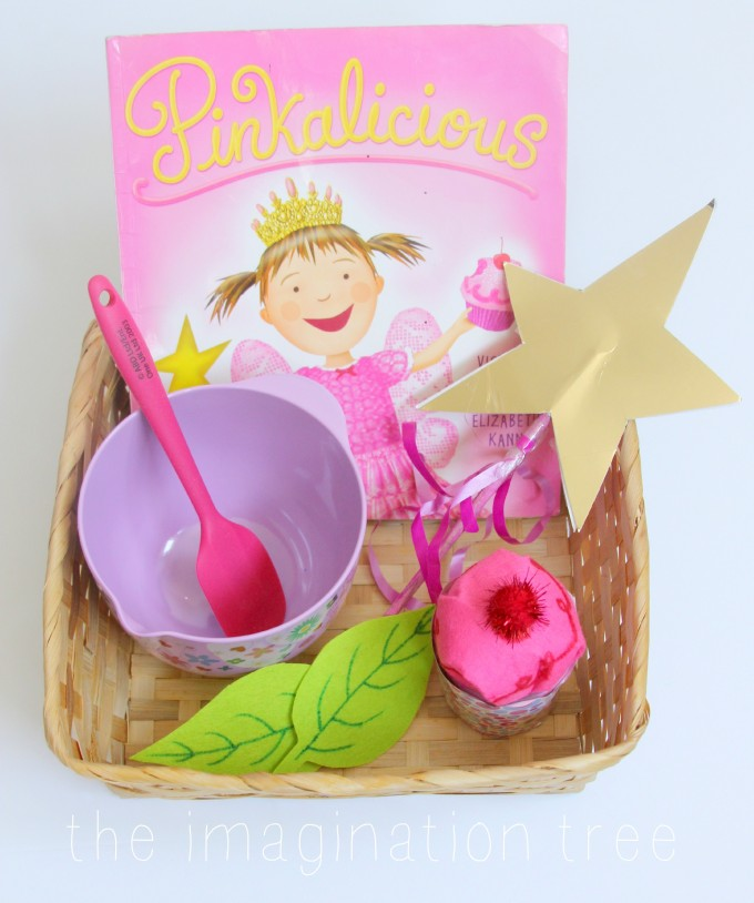 Story telling basket for preschoolers