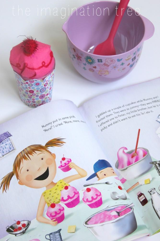 pinkalicious story basket