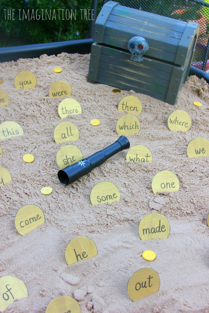 Sand Letter Writing Game