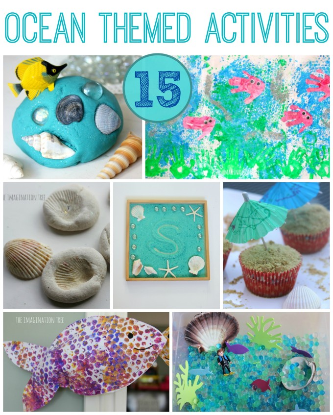 15 ocean themed activities for kids