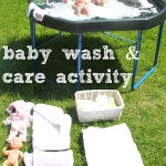 Baby Doll Washing and Caring Activity