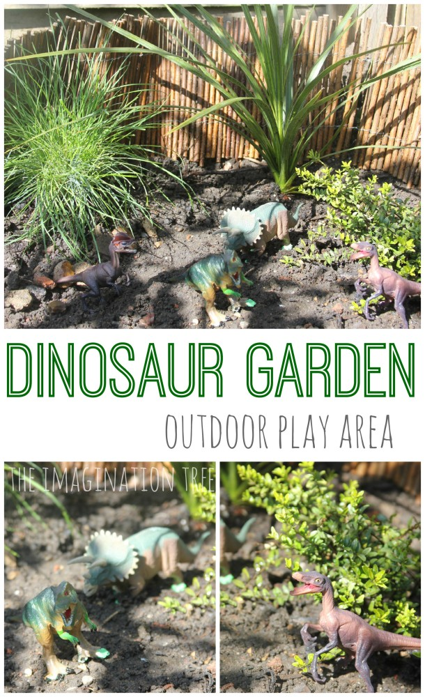 Small World Play: Dinosaur Garden