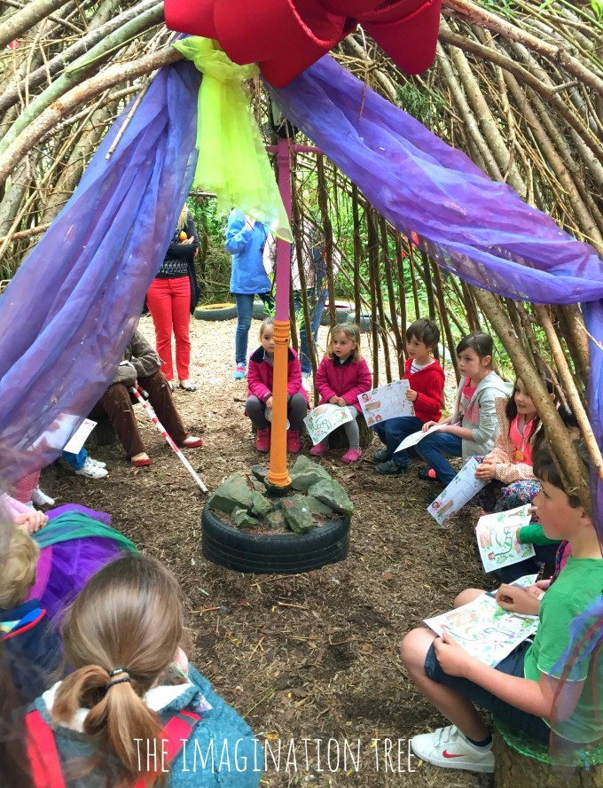 Fairy den at Bluestone Wales