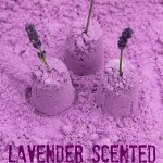 Lavender Scented Cloud Dough Recipe