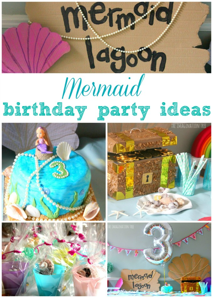 Mermaid birthday party ideas, food and activities