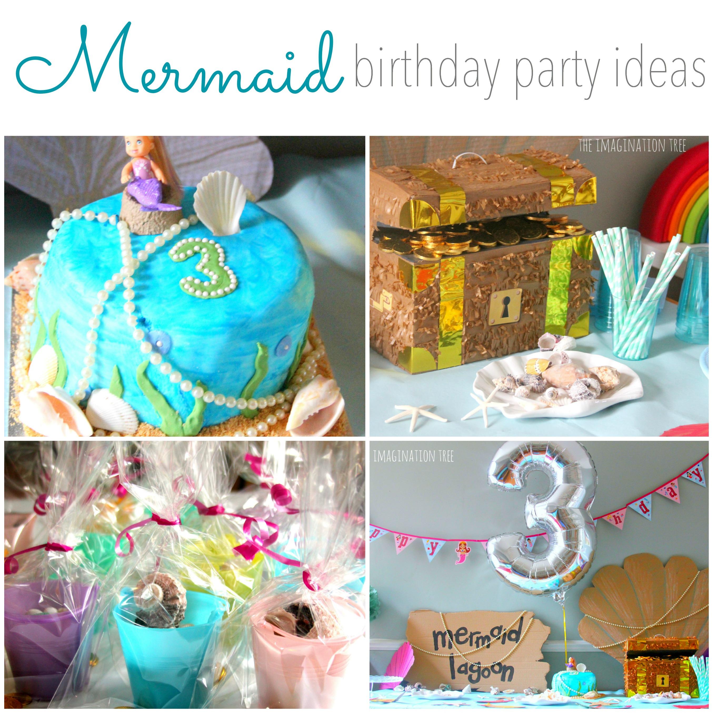 Wondrous Mermaid Birthday Party Ideas The Imagination Tree Funny Birthday Cards Online Barepcheapnameinfo