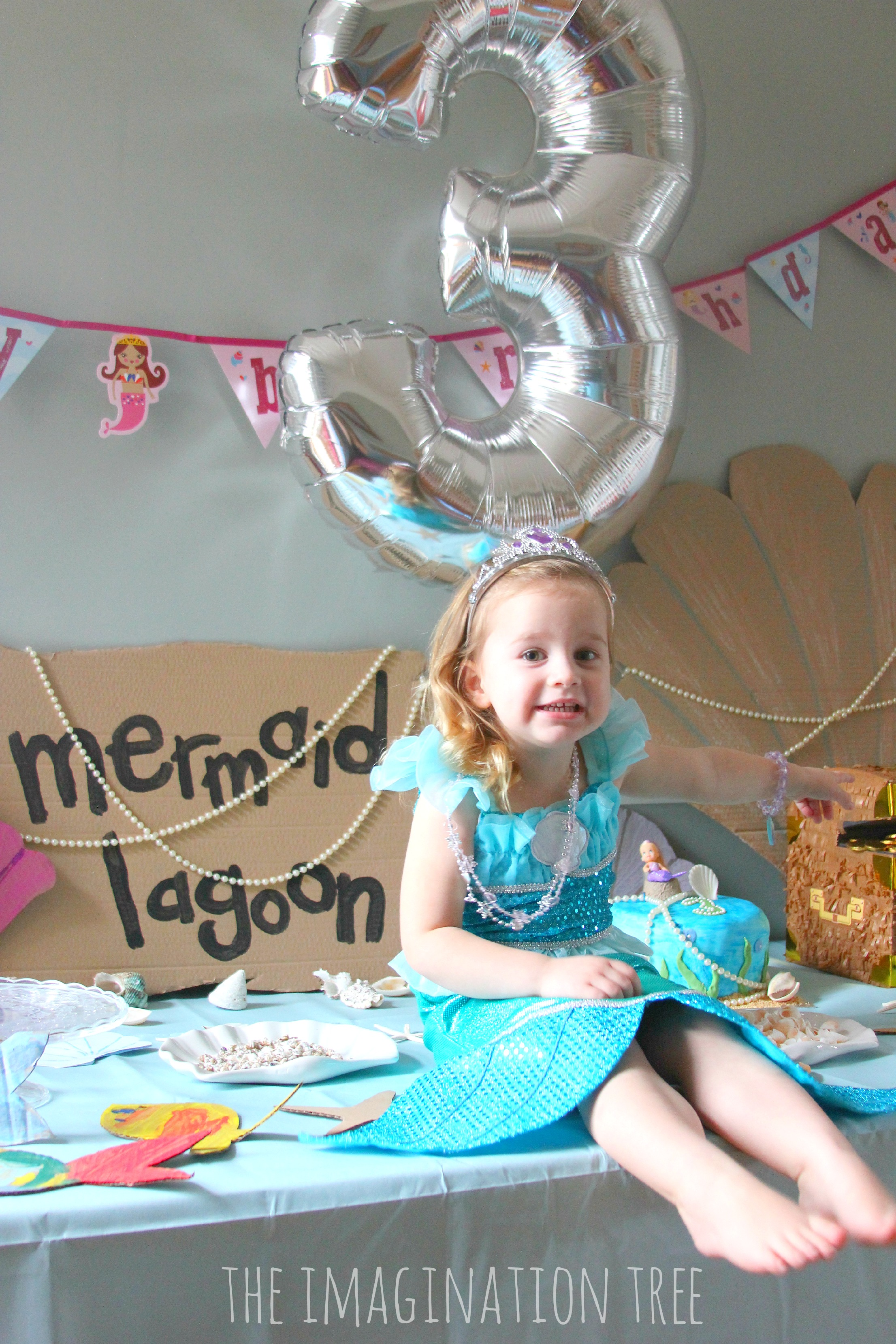 Mermaid Birthday Party Ideas - The Imagination Tree