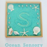 Ocean Sensory Writing Tray