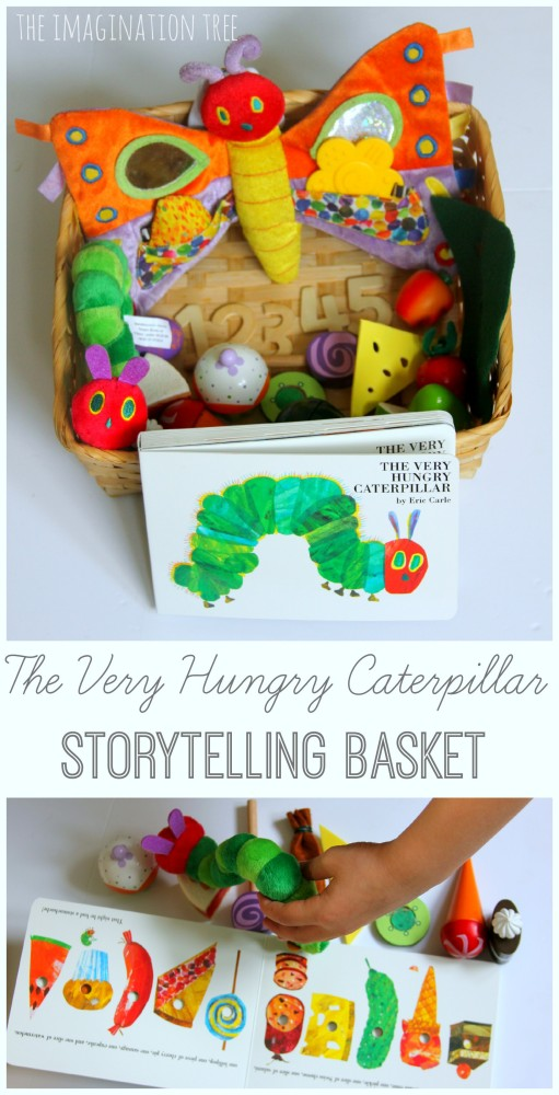 The Very Hungry Caterpillar Storytelling Basket