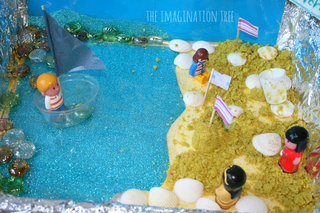 seaside small world play