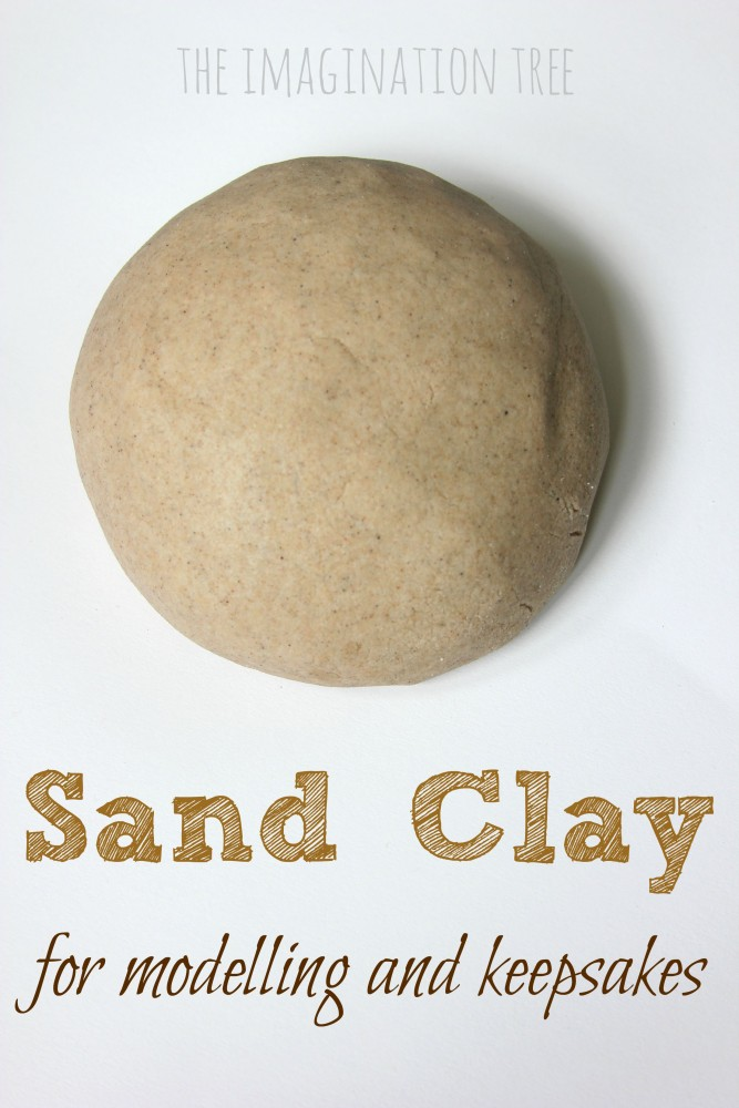 DIY sand clay recipe