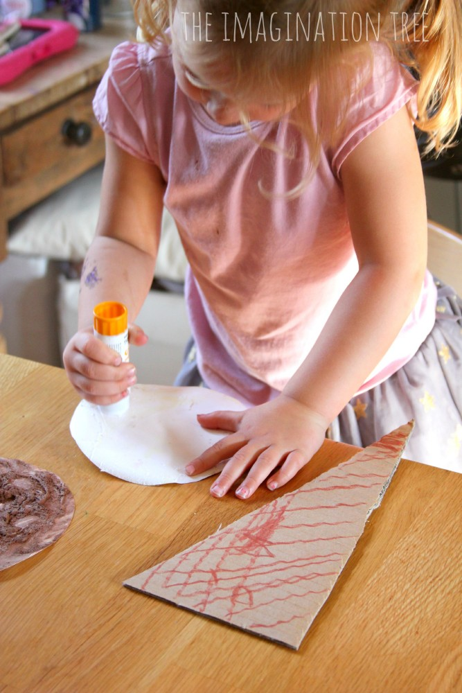 Ice cream craft for kids