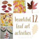 12 Autumn Leaves Art Activities