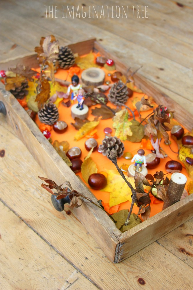 Autumn Woods Sensory Small World