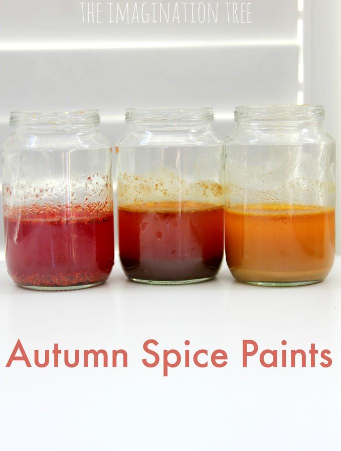 Autumn spice paints