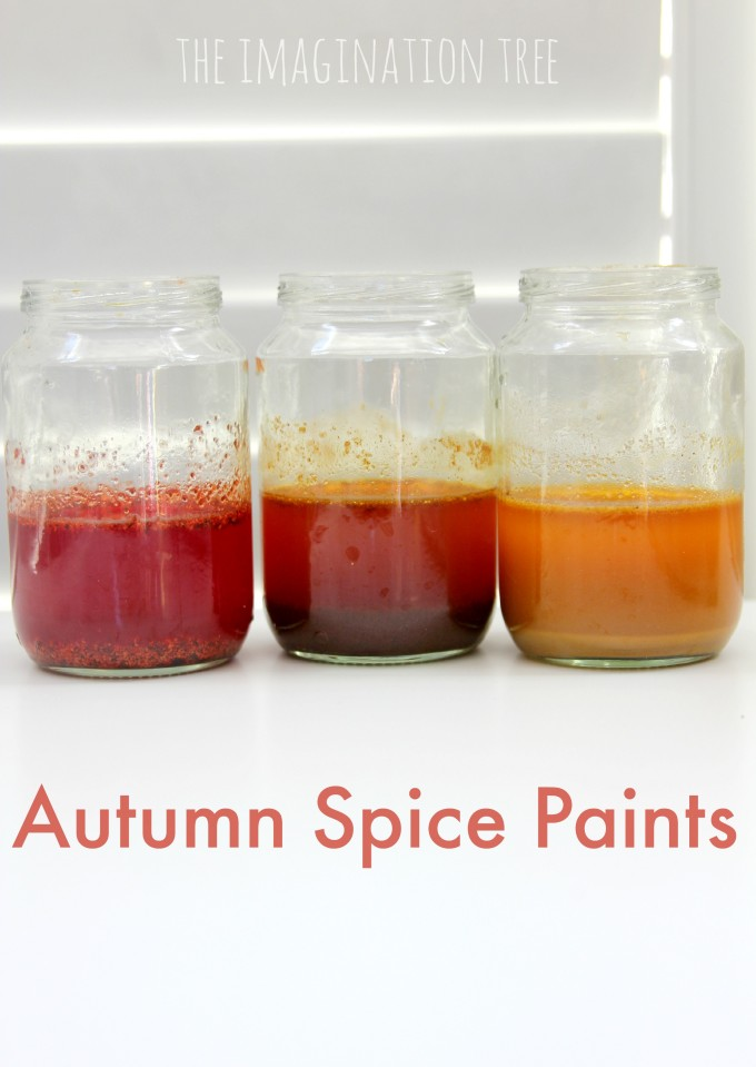 Autumn Spice Paints Recipe