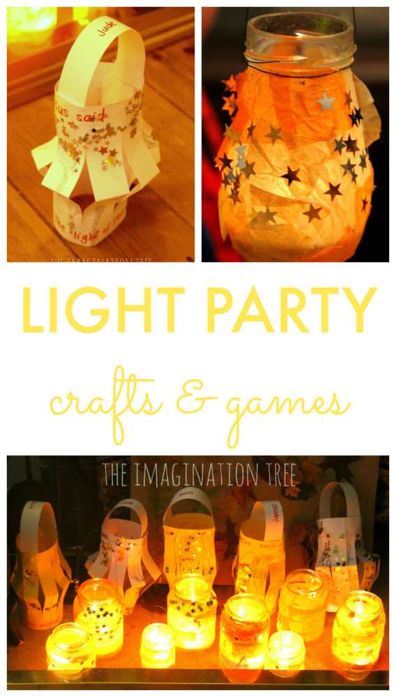 Light Party Crafts and Games for Kids