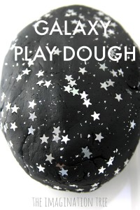 No-cook galaxy play dough recipe