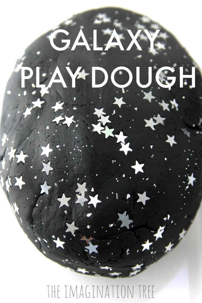 Galaxy Play Dough and Space Small World