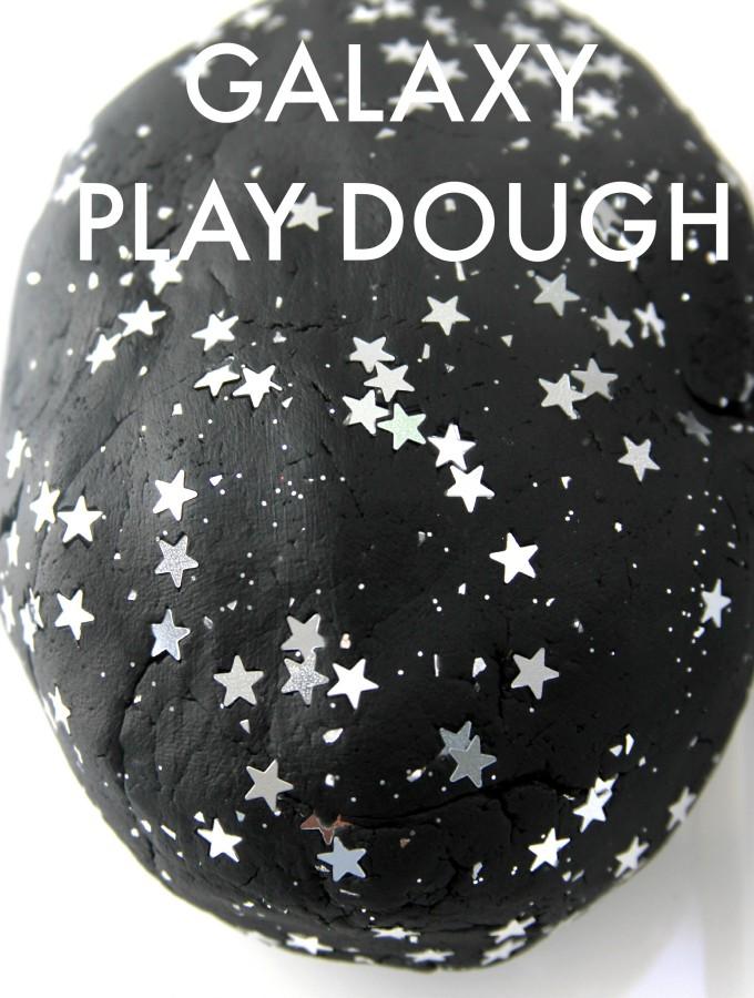 No-cook galaxy play dough recipe
