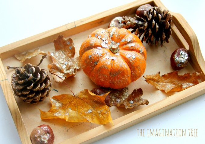 12 autumn leaves art activities the imagination tree for Painting with nature items