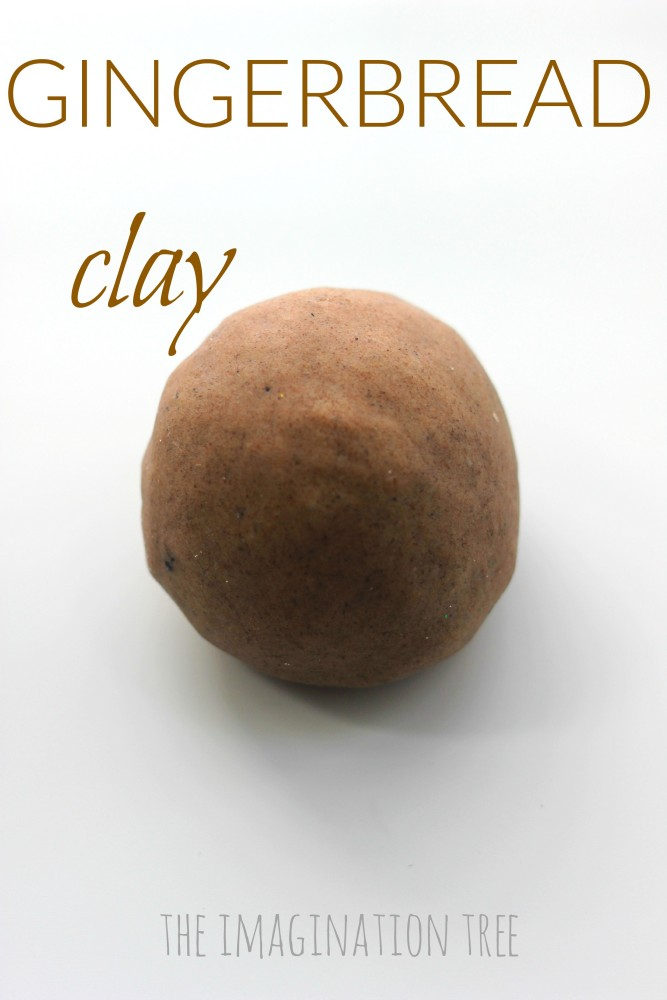 DIY gingerbread clay recipe