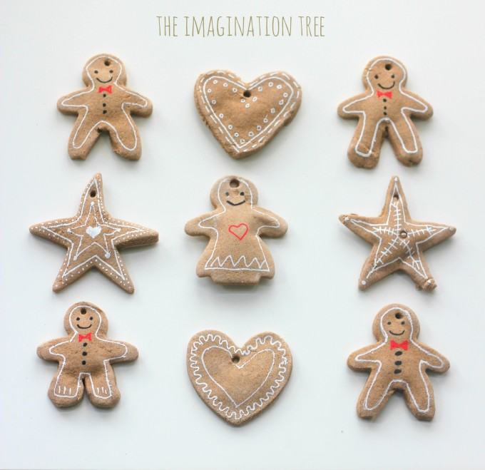 Gingerbread clay recipe