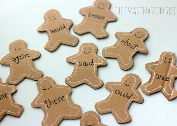 Gingerbread Man Sight Word Bake Game!