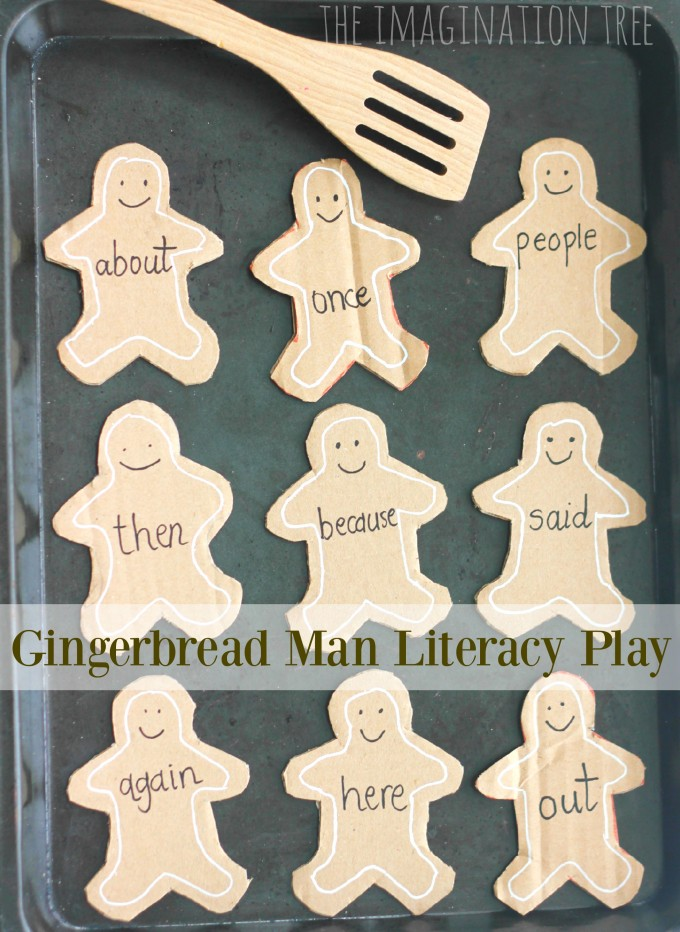 Gingerbread Man Learning Card Games!