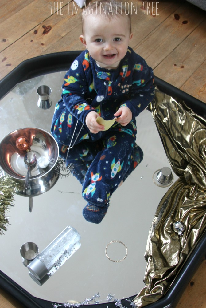 Baby And Toddler Sensory Play Tray Reflections The