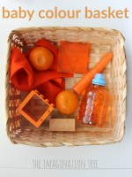 baby colour basket