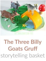The Three Billy Goats Gruff Storytelling Basket