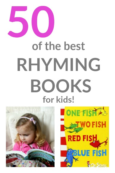 50 of the Best Rhyming Books for Kids