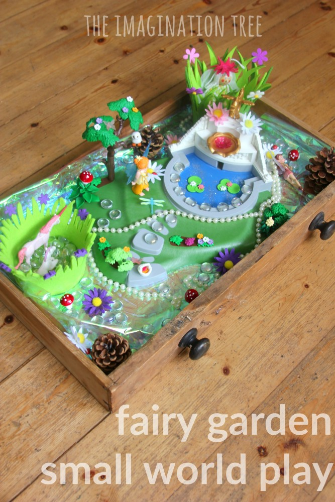 Fairy garden small world play