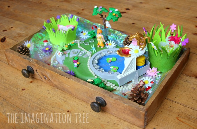 Fairy Garden Small World in a Drawer - The Imagination Tree