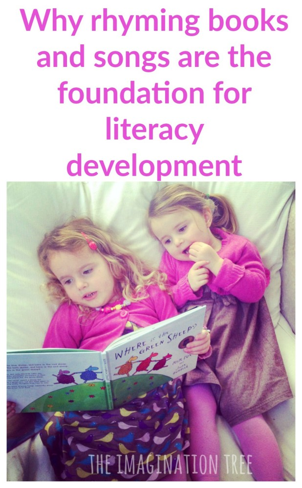 The importance of rhyme in early literacy development, and lots of ideas for everyday play!