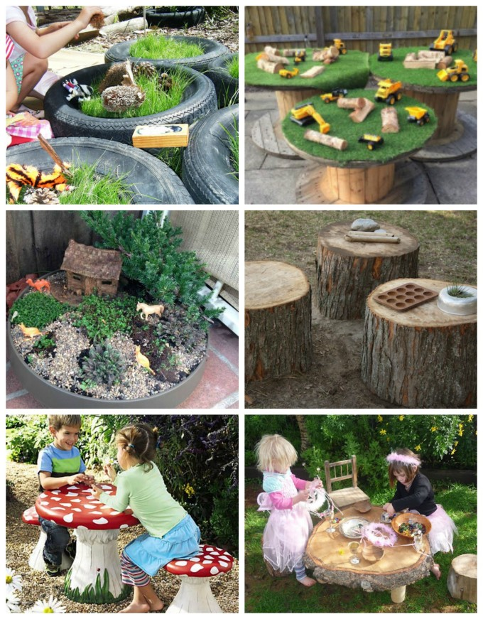 Amazing outdoor play spaces for the backyard
