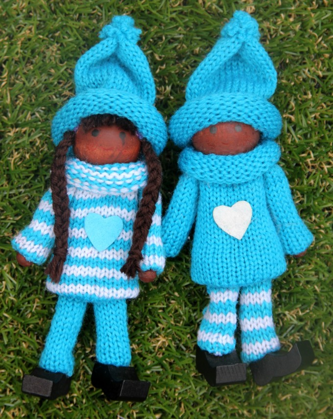 Blue kindness elves for sale