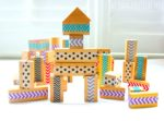DIY Patterned Wood Blocks