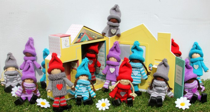 The beautiful, all new Kindness Elves for sale!